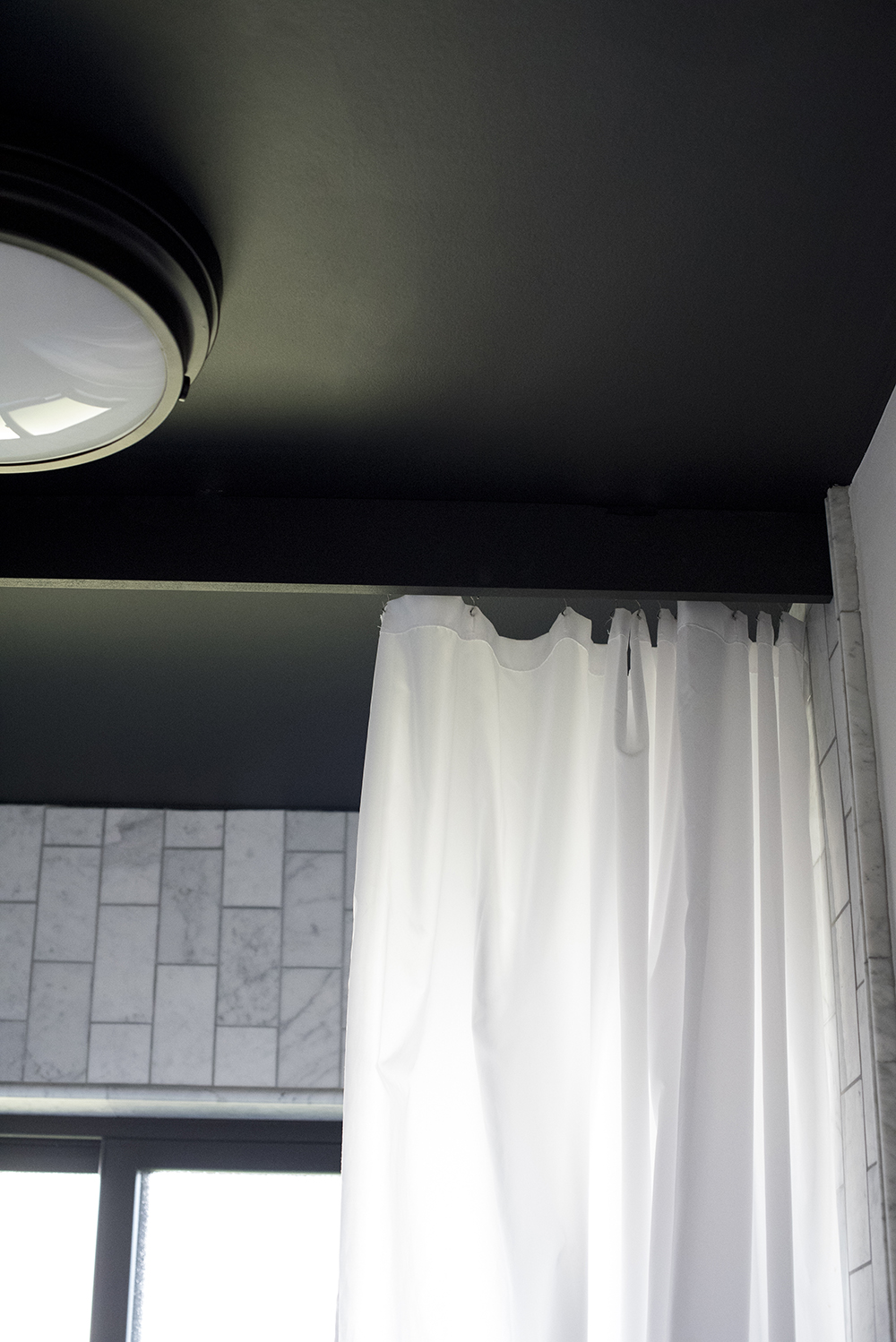 Shower Curtain with Valence