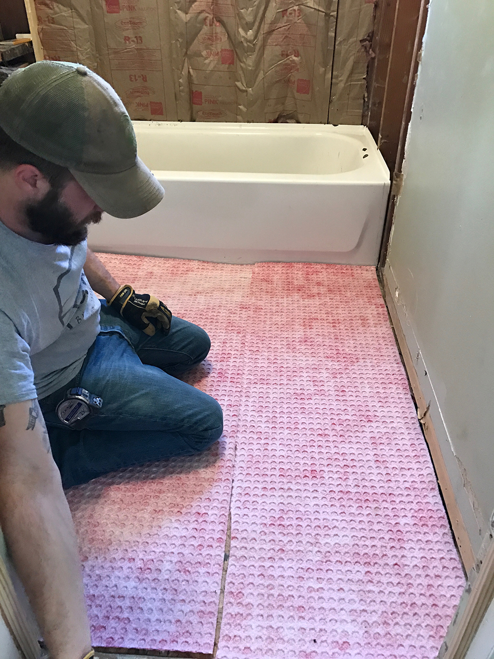 watering proofing floor membrane