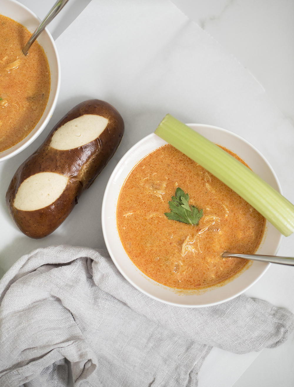 The Best Buffalo Chicken Soup Recipe - roomfortuesday.com