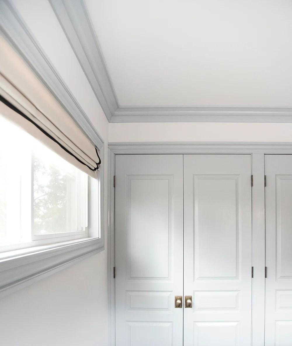 Crown Molding Corner Deco Low Profile Inside Fits 4-4 1//4 Inch Crown Molding
