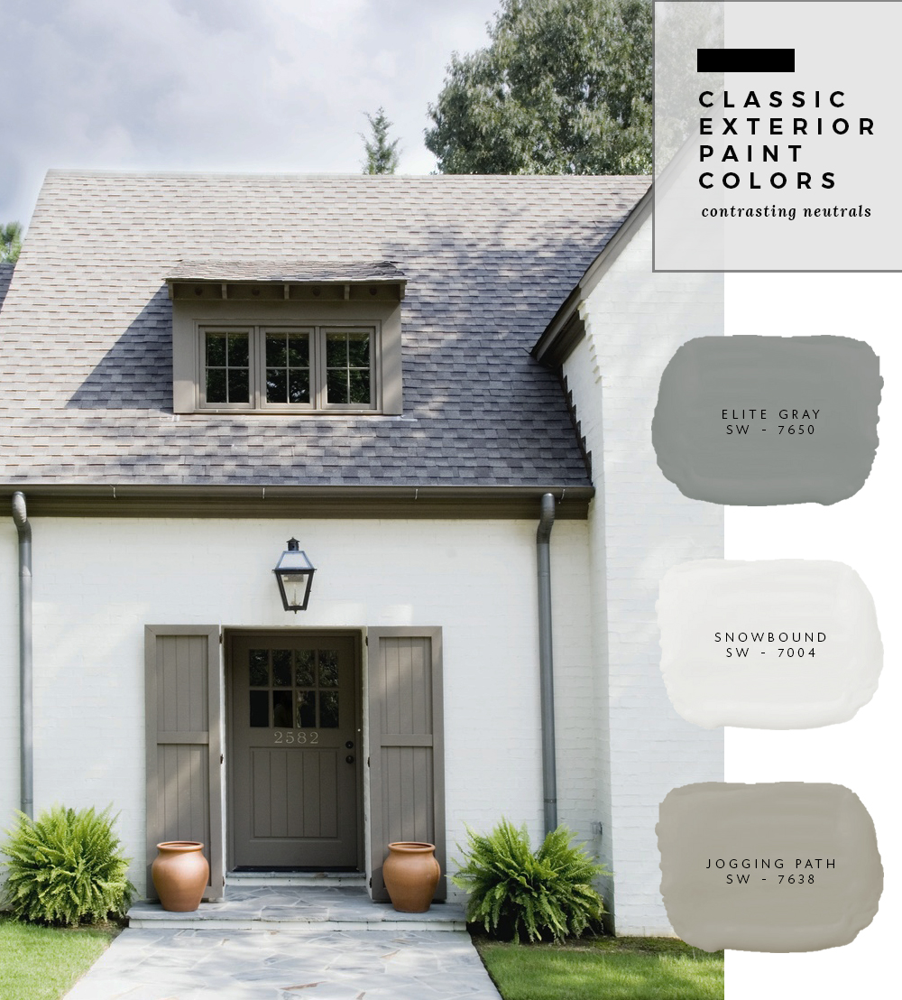 Exterior paint color combinations room for tuesday Davies paint exterior color combination