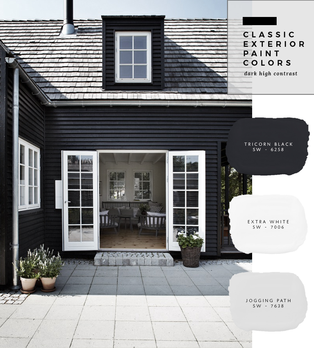 Classic Exterior Paint Color Combinations - roomfortuesday.com