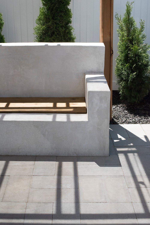 Sensational Concrete Outdoor Sofa Before Paint Room For Tuesday Evergreenethics Interior Chair Design Evergreenethicsorg