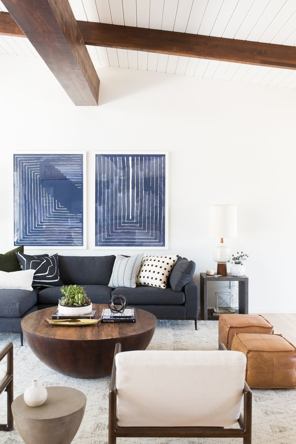How to Pair a Sectional Sofa with the Appropriate Coffee Table - roomfortuesday.com & Pairing Sectional Sofas and Coffee Tables - Room for Tuesday
