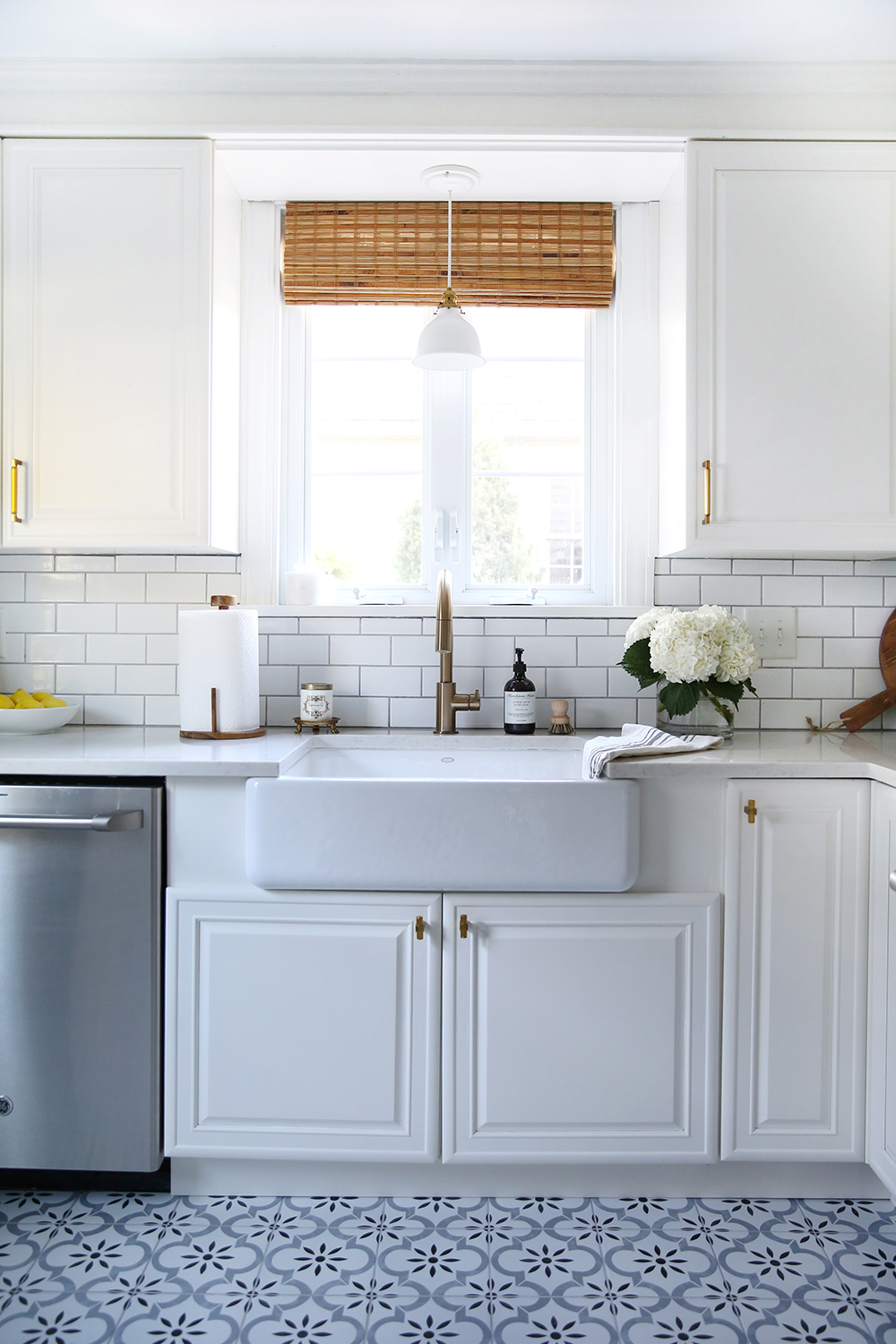 Classic White Kitchen Reveal - Room for Tuesday