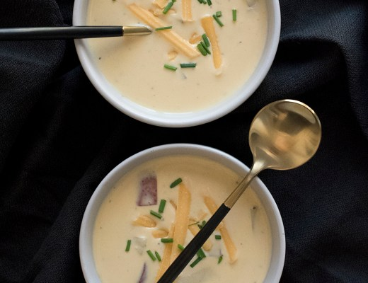 Creamy Potato Soup - roomfortuesday.com
