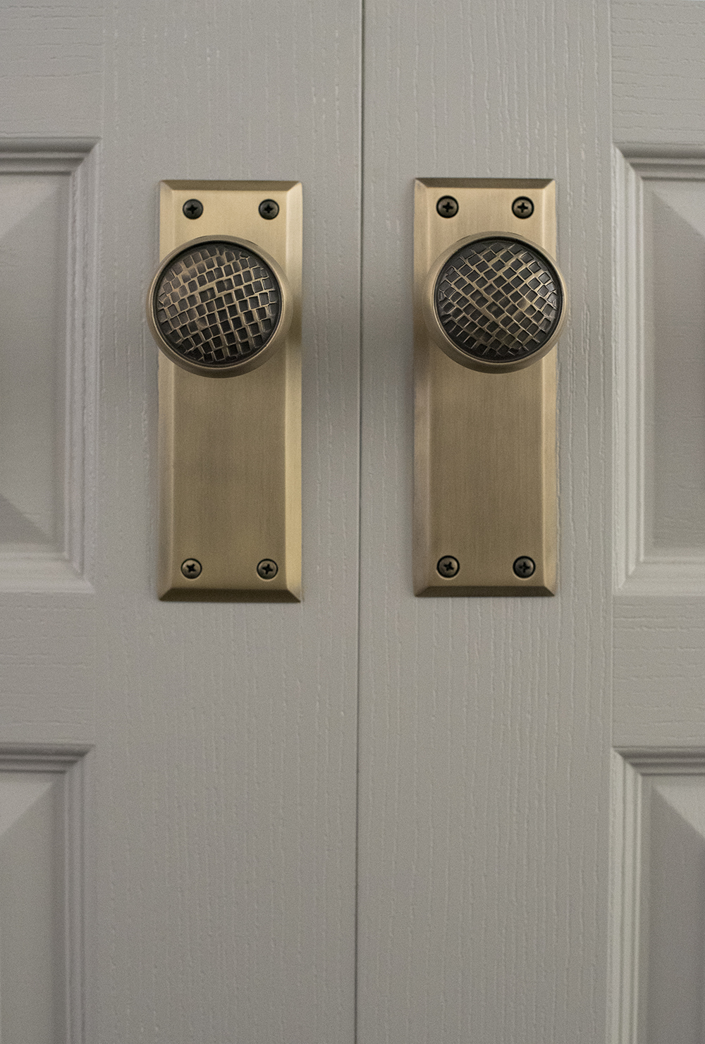 Selecting My Interior Doors & Hardware Style - roomfortuesday.com
