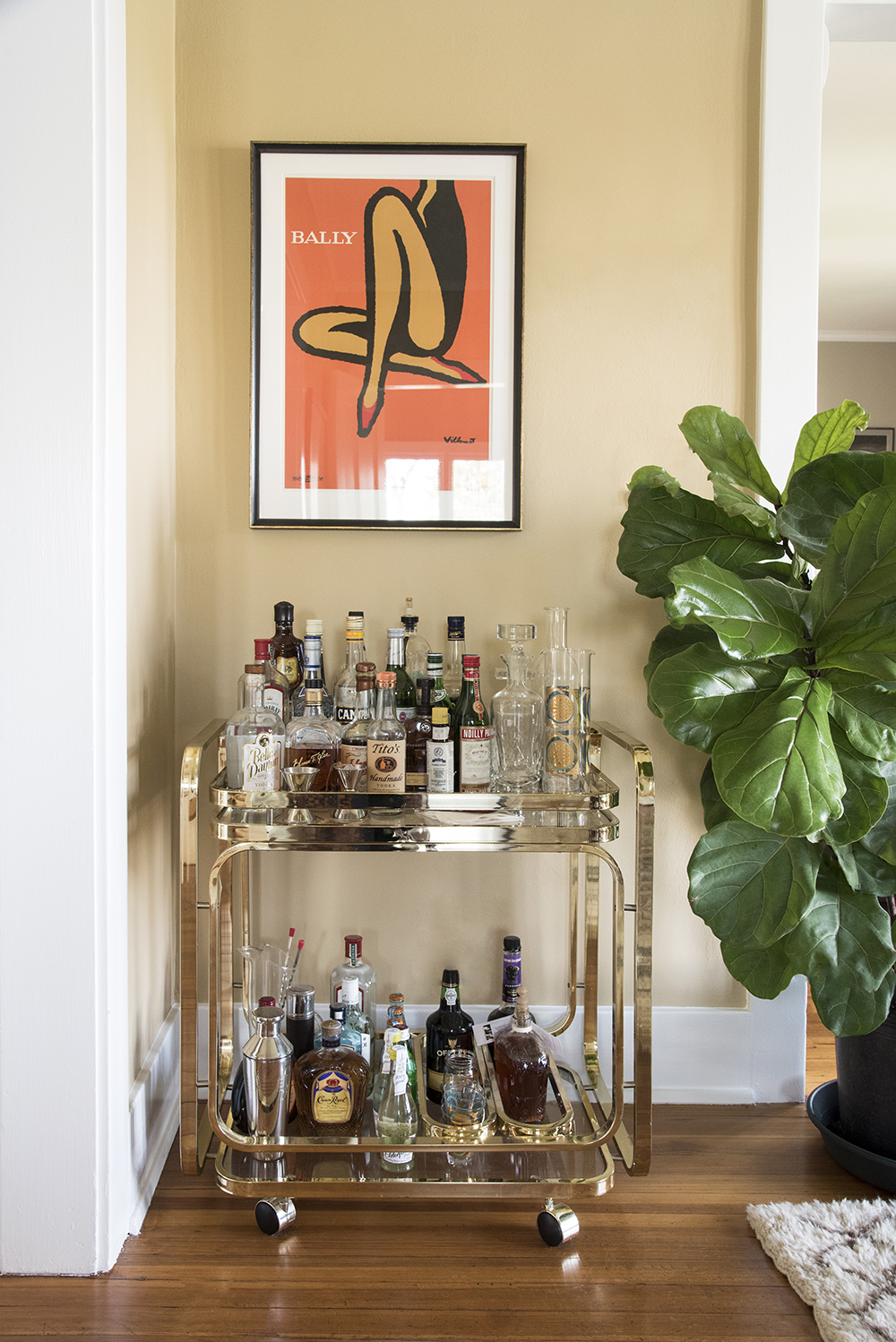 6 Ways to Style a Bar Cart - roomfortuesday.com