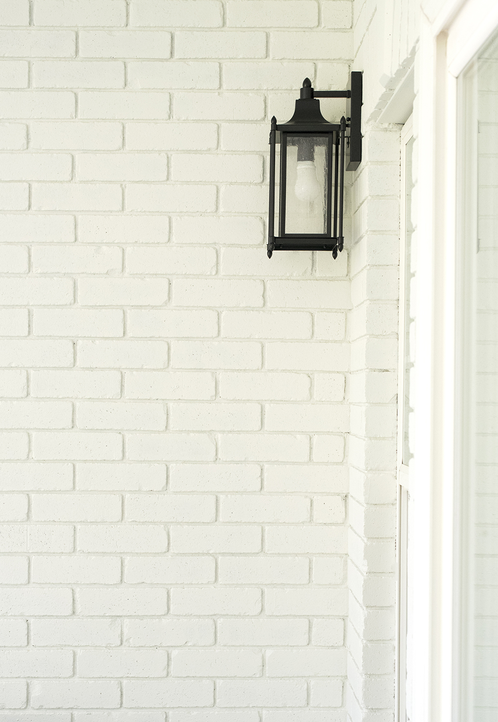 How to Paint Exterior Brick - roomfortuesday.com