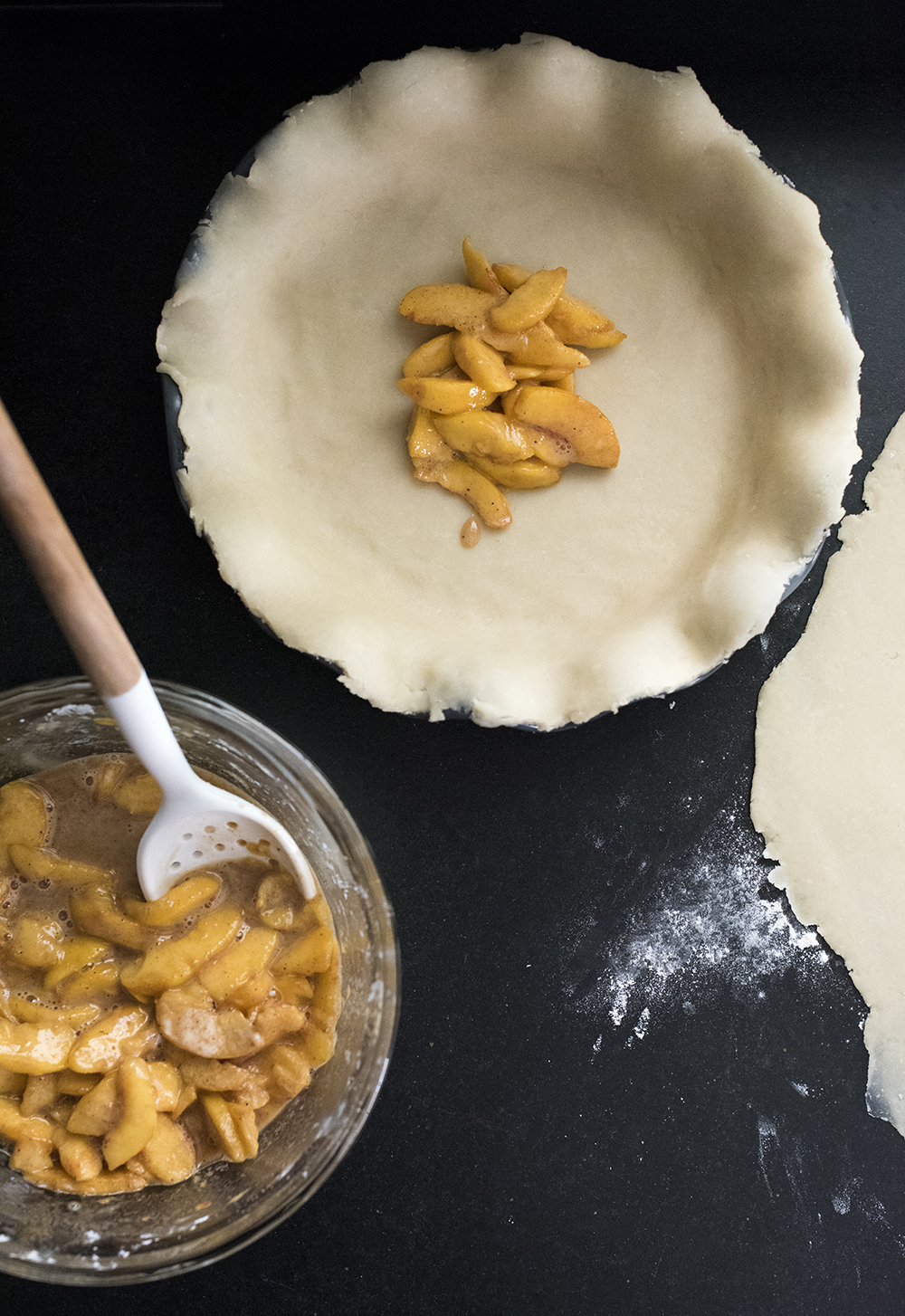 The Best Peach Pie - roomfortuesday.com