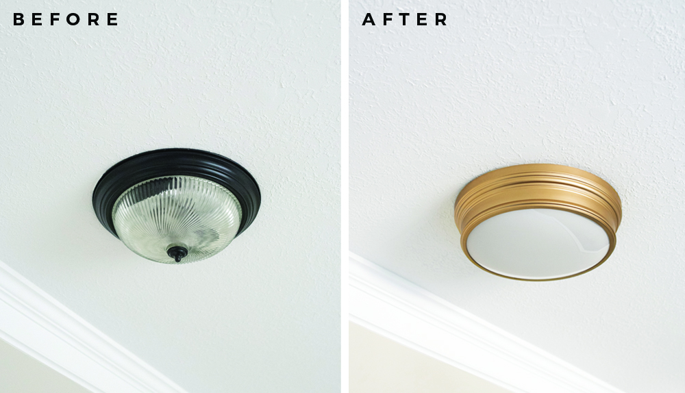 Swapping Our Builder Grade Lights + The Best Fixtures From Lowe's - roomfortuesday.com