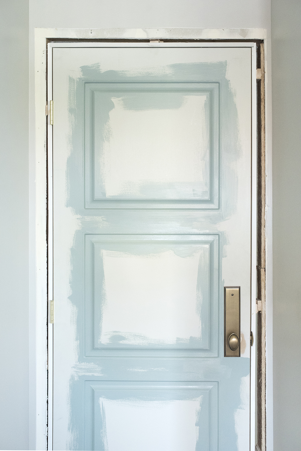 How to Paint a Door - roomfortuesday.com
