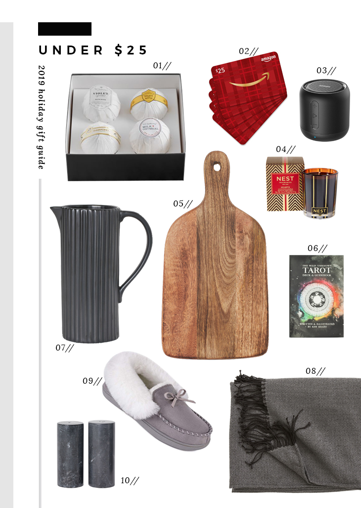 2019 Holiday Gift Guide : Stocking Stuffers - roomfortuesday.com