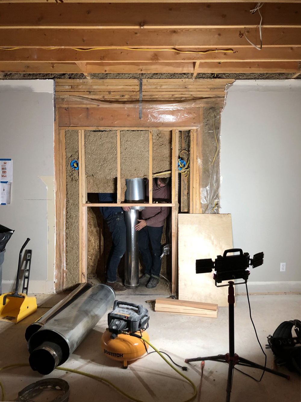 "How to Feel ""At Home"" in the Midst of a Renovation - roomfortuesday.com"