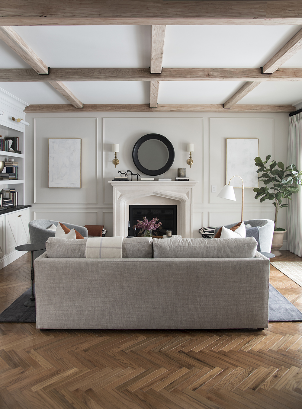 The Formal Living Room : One Room Challenge – Room Reveal - roomfortuesday.com