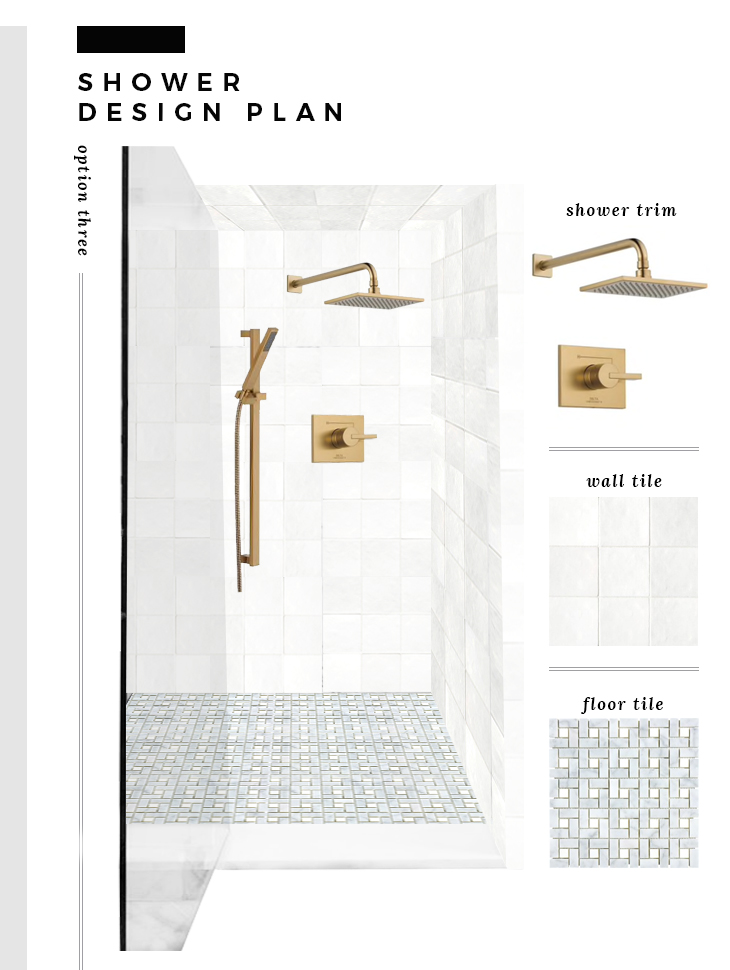 5 Classic Shower Design Plans - roomfortuesday.com