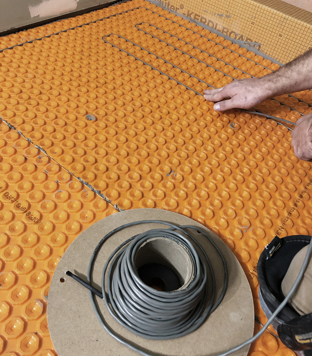 Diy Heated Flooring Tile Besthomedecors