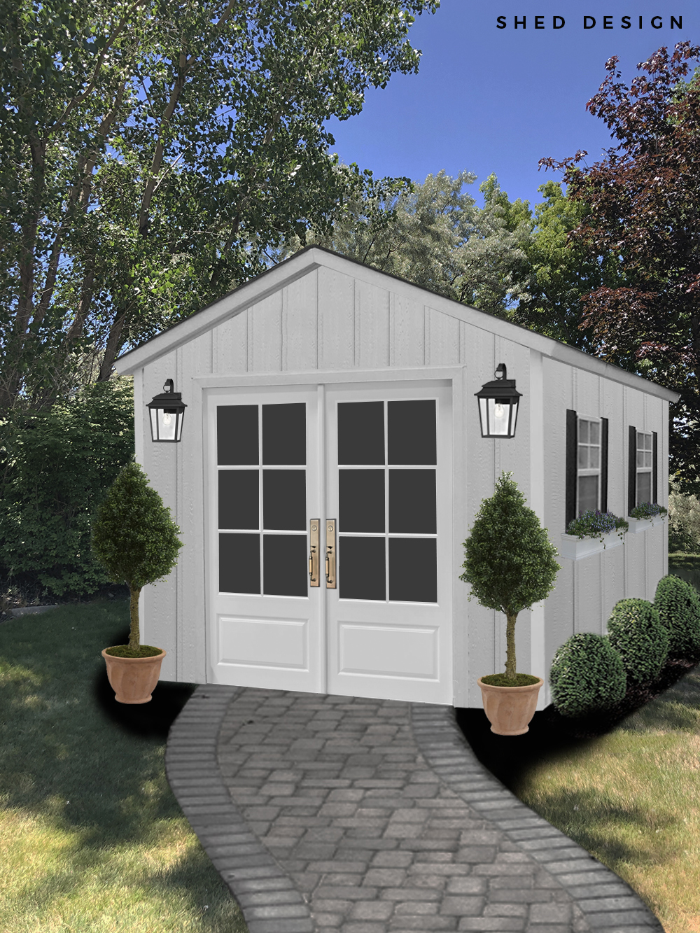 Designing Our Shed (+ Some Readymade Options)
