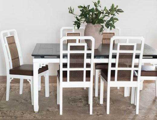 Naš Vintage blagovaonski set za transformaciju + Savjeti za restauraciju - roomfortuesday.com