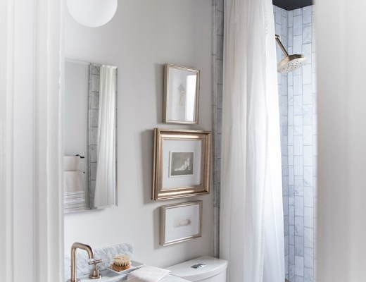 Look for Less : Our Previous Bathroom - roomfortuesday.com