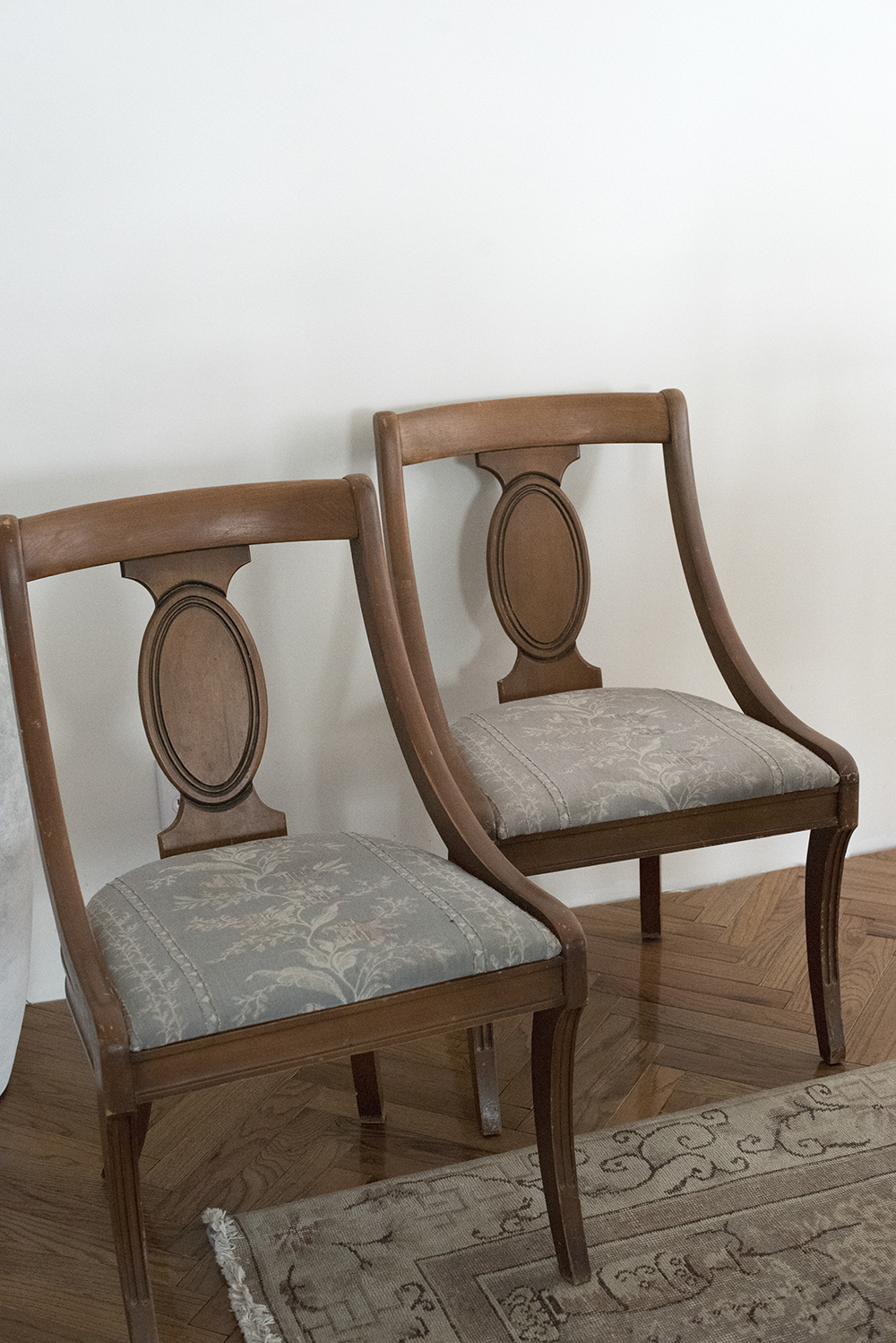 My Animal Print Chairs - A Quick Makeover