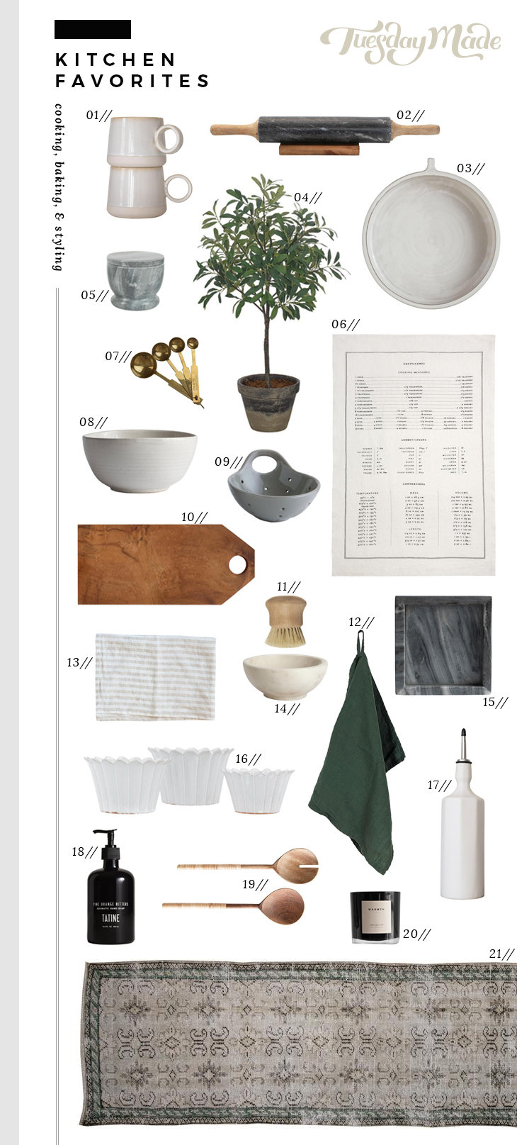 Favorite Kitchen Items From Our Shop - roomfortuesday.com