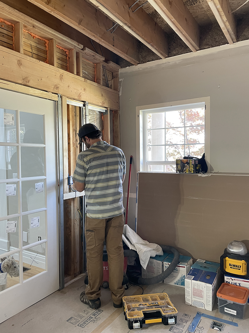 Office Renovation Update (Drywall) - roomfortuesday.com