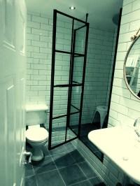 Grid Shower Doors & SHOWER DOORS AND MIRRORS.