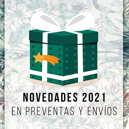 Novedades 2021 en preventas y envíos
