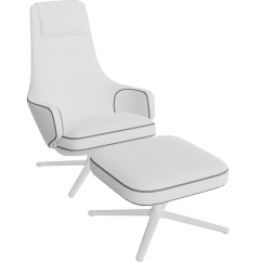 Skruvsta Swivel Chair Reading Ikea Free Try Out Of Repos & Ottoman From Vitra In 3d, Vr And Ar