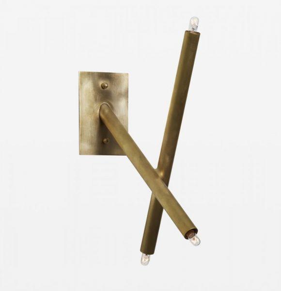 2 Stick Sconce