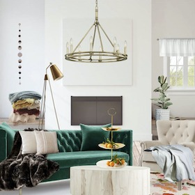 Eclectic / Glam Rustic (ZGallerie)