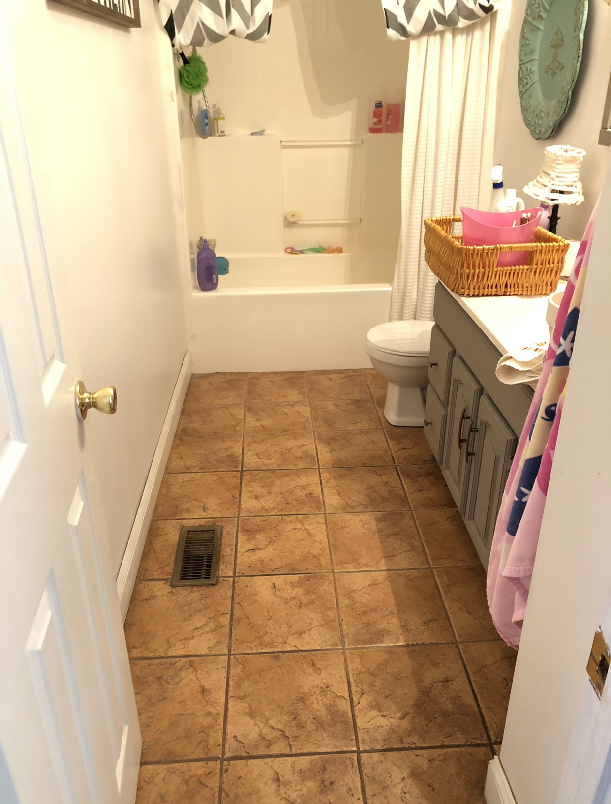 How to DIY bathroom