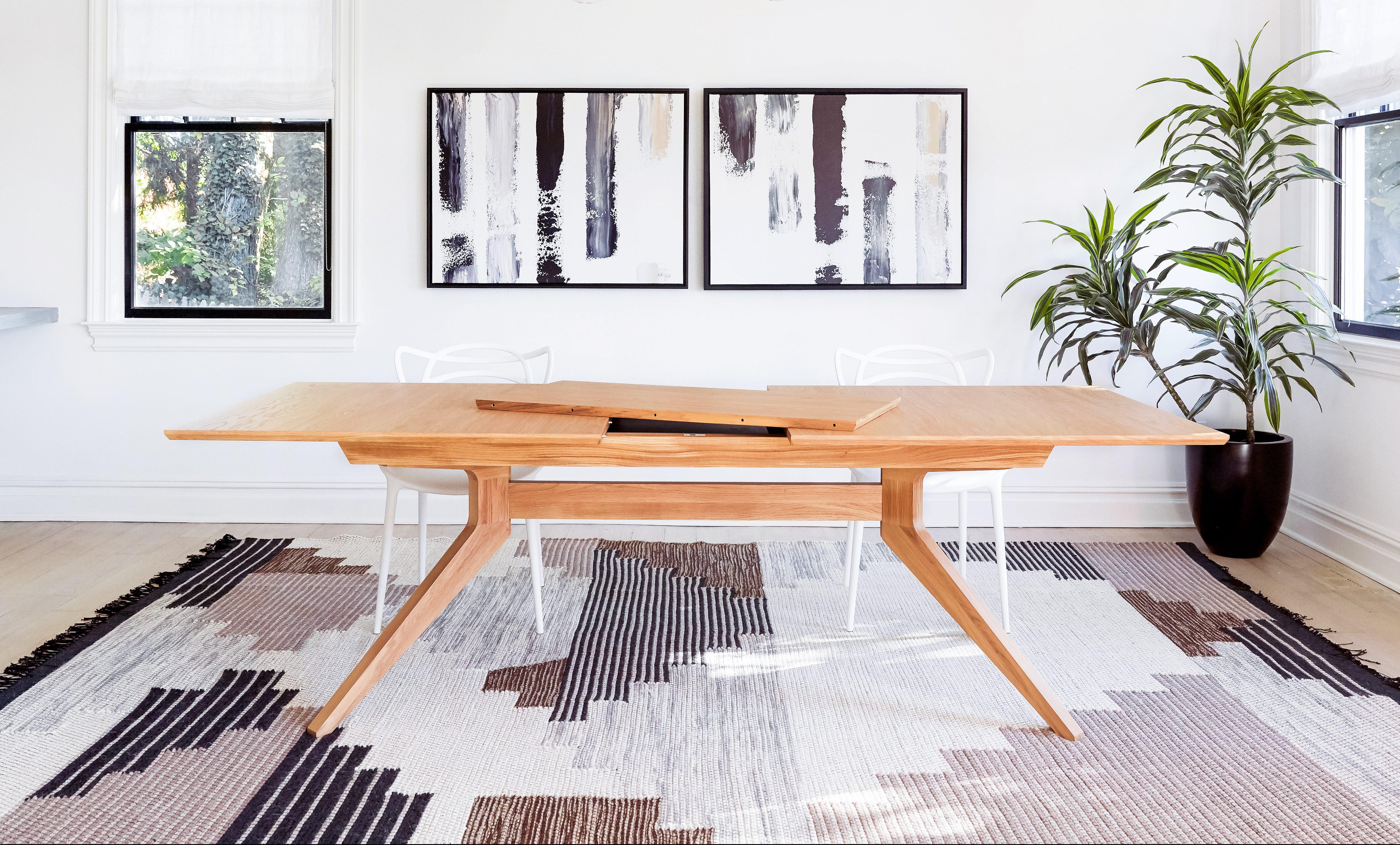 Oak Extension Table
