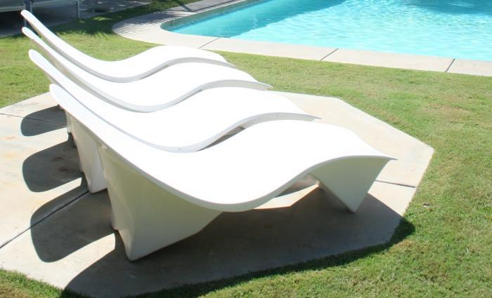 60's Arcitectural Sunlounger In