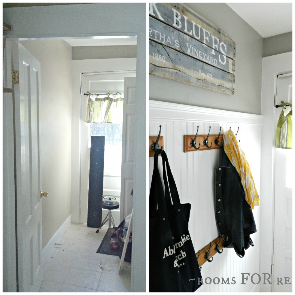 Mudroom Makeover | Rooms FOR Rent blog