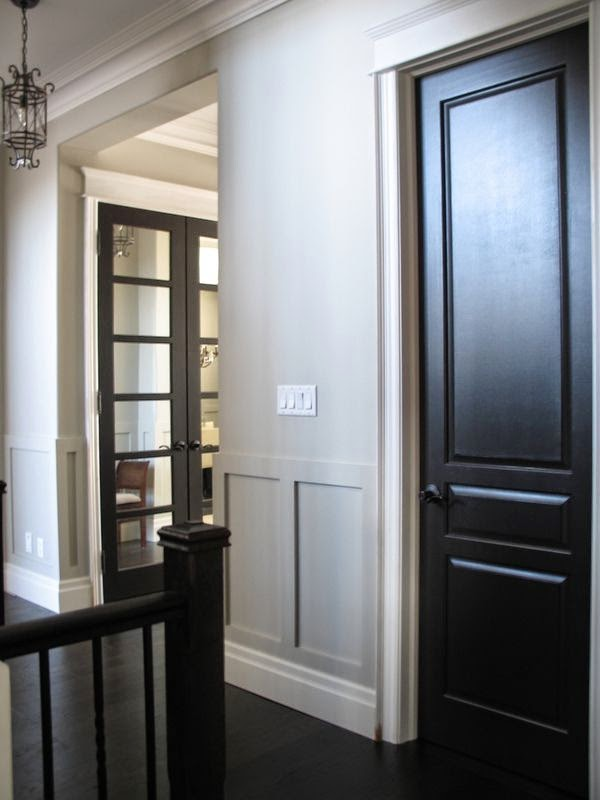 Grey painted interior doors rooms for rent blog painted interior doors which can i just say these come out stunning i have advised a few clients to jump on this boat and every time planetlyrics Image collections