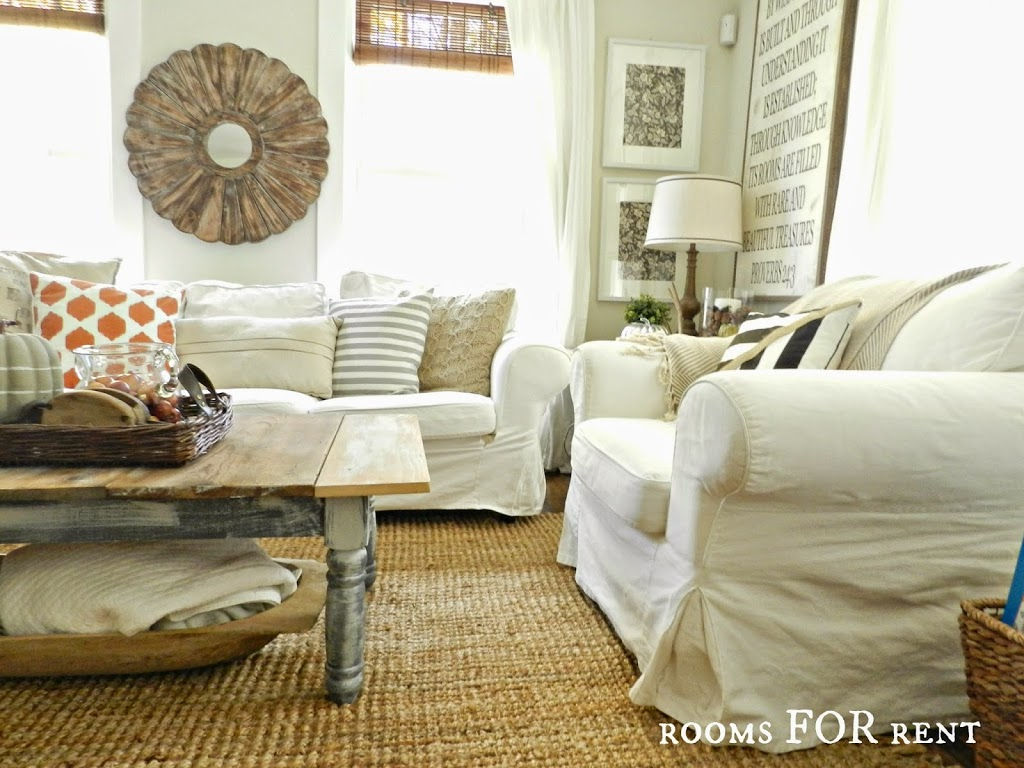 New Rug in the Living Room - Rooms For Rent blog
