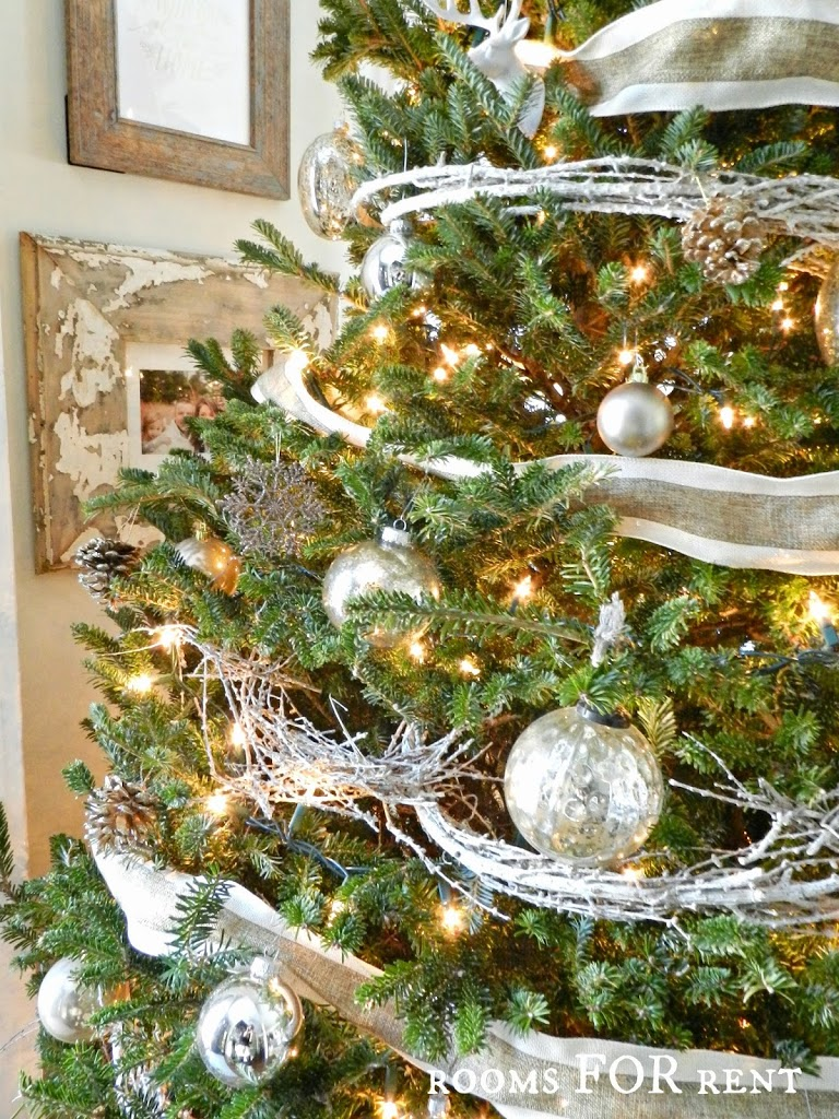 Woodland Glam Christmas Tree - Rooms For Rent blog
