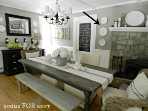 Dining Room UPDATES + a New Chandelier