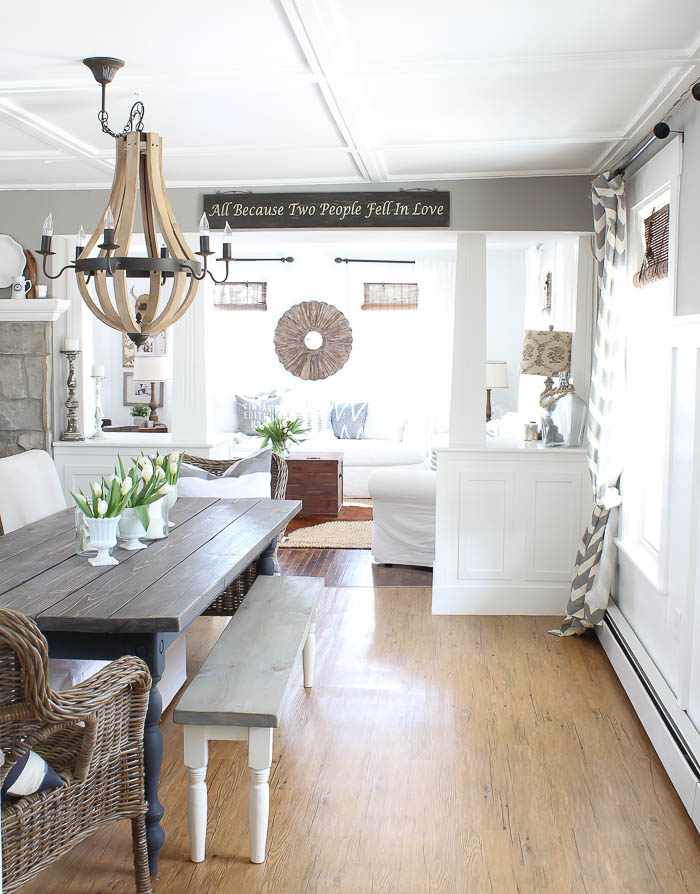 Farmhouse Dining Room | Rooms FOR Rent Blog