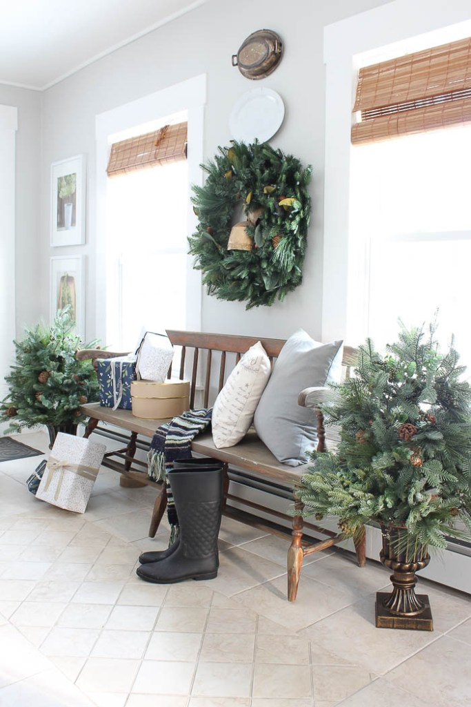 Balsam Hill Christmas Entryway | Rooms FOR Rent Blog