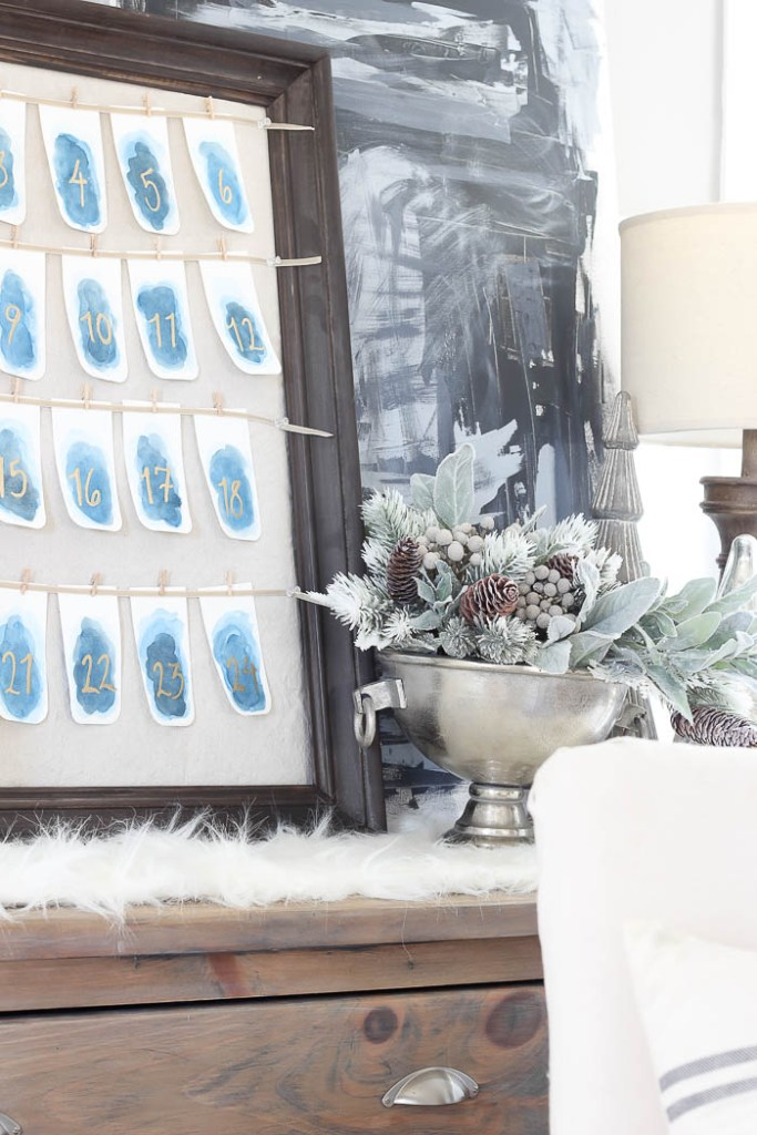 Watercolor Advent Calendar | Rooms FOR Rent Blog