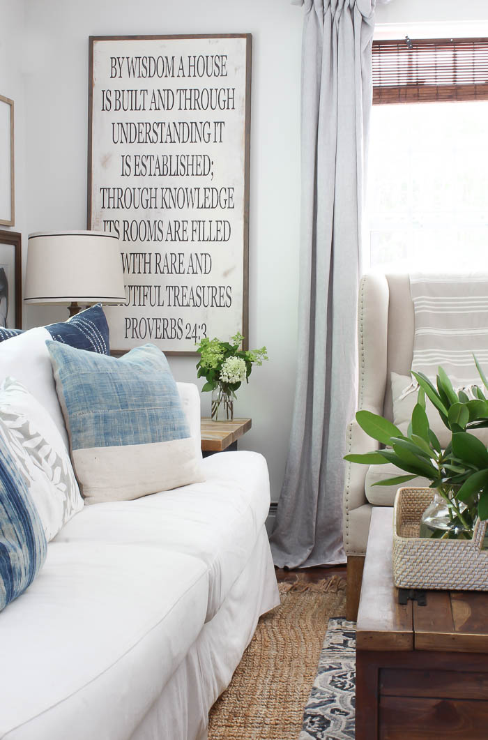 Summer Decor, Farmhouse Living Room | Rooms FOR Rent Blog