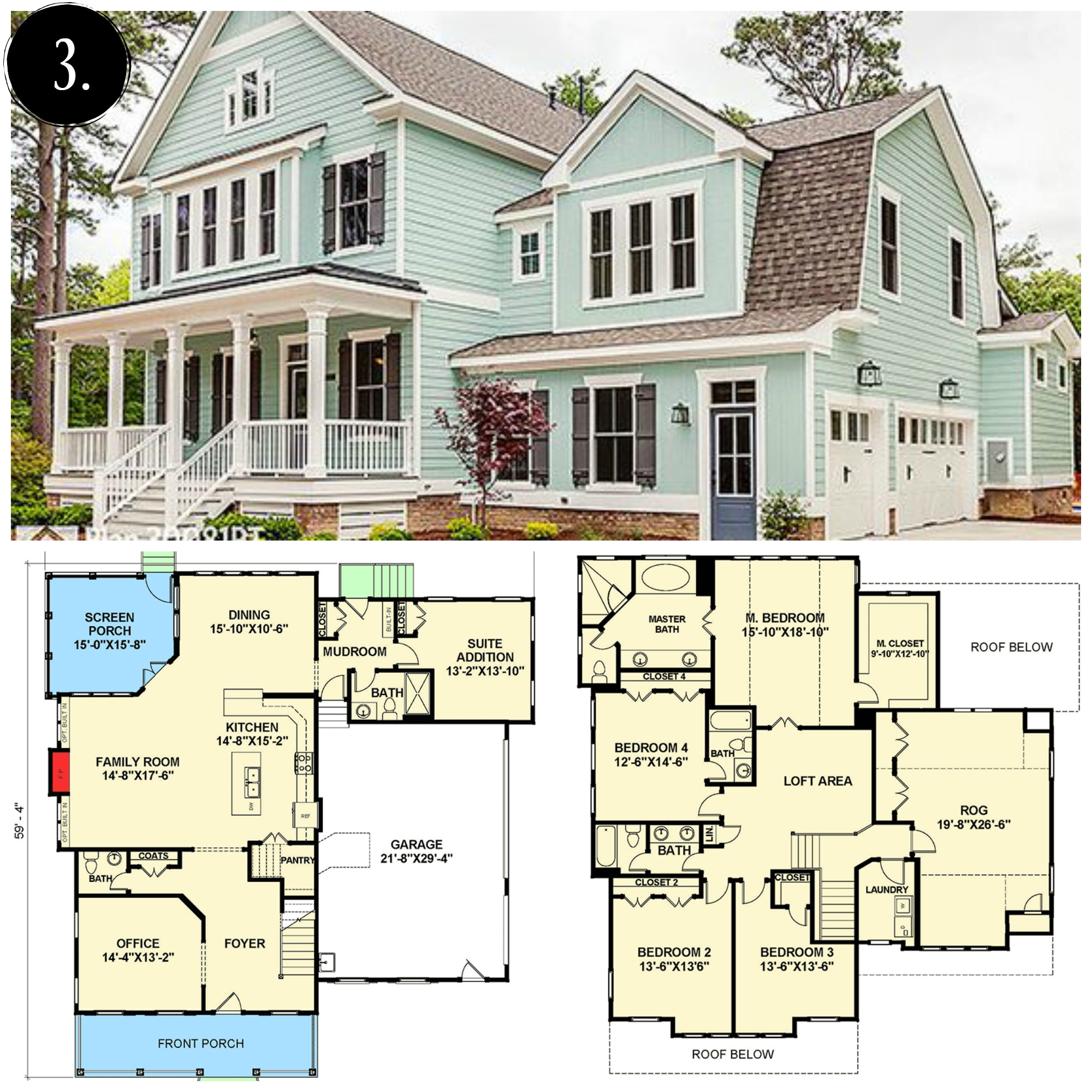 Charmant Modern Farmhouse Floor Plan | Rooms FOR Rent Blog