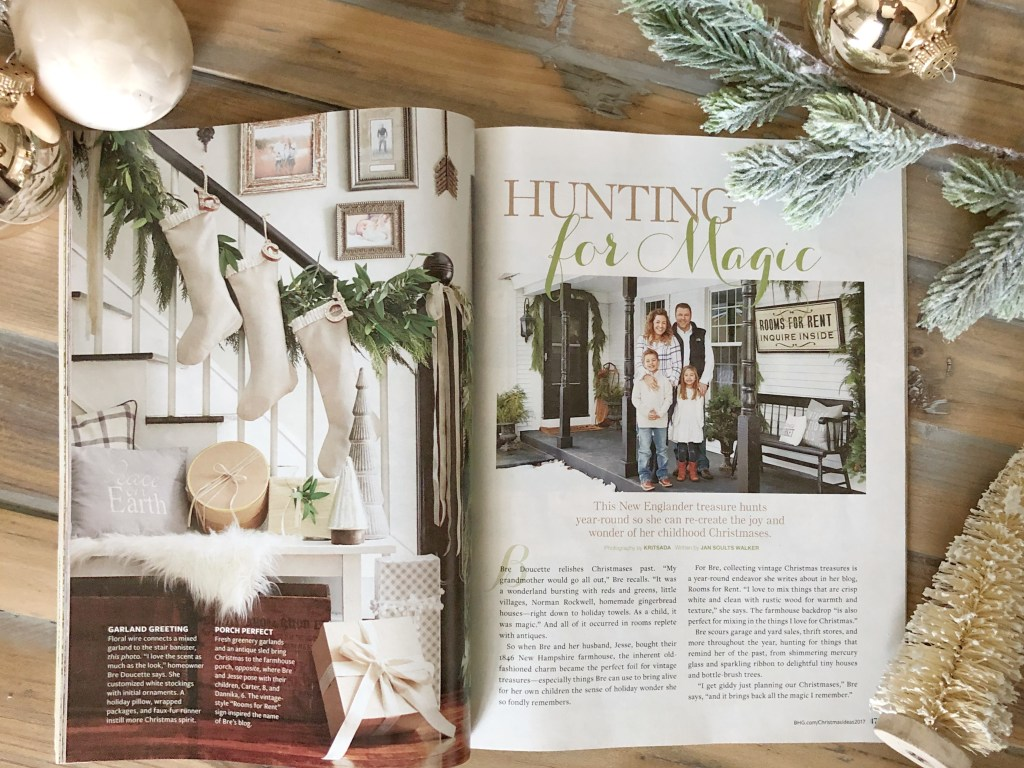 BH&G Christmas Magazine Feature | Rooms FOR Rent Blog