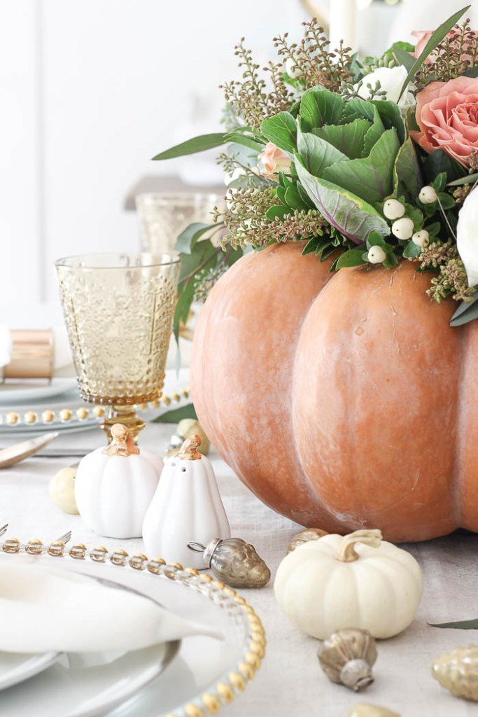 Pumpkin Centerpiece Thanksgiving Table | Rooms FOR Rent Blog