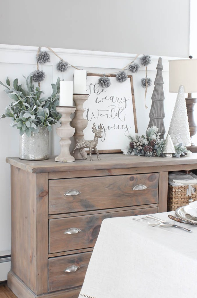 Frosted Winter Tablescape | Rooms FOR Rent Blog