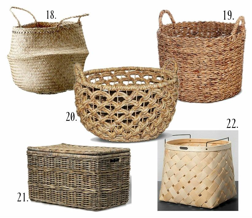 22 Storage Baskets Under $50   Rooms FOR Rent Blog