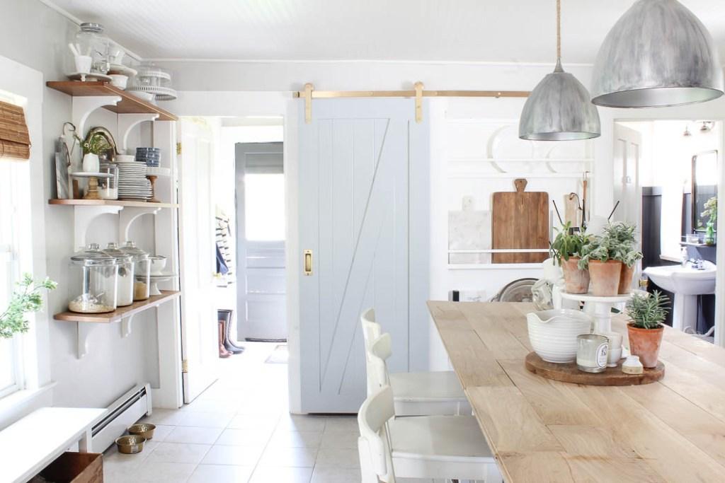 New Barn Door In The Kitchen Rooms For Rent Blog